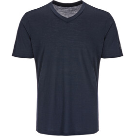 super.natural Base V Neck Tee 140 Intimo parte superiore Uomo blu